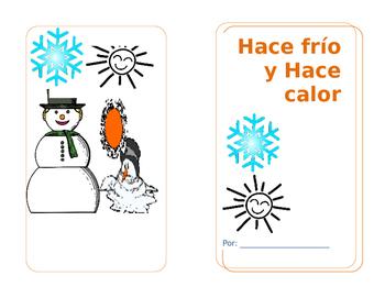 Hace Frio y Hace calor Mini-book