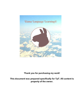 Hacer and Tener Conjugation Practice - Spanish Beginner/In
