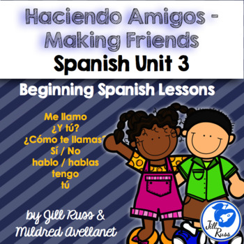 Cómo te llamas? Me llamo: Beginning Spanish Lessons for El