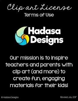 Hadasa Designs: Terms of Use