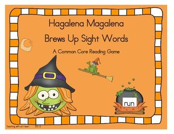Hagalena Magalena Brews Up Sight Words