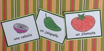 ¡Hagamos salsa! Card Game + Minibook Activity Pack Spanish