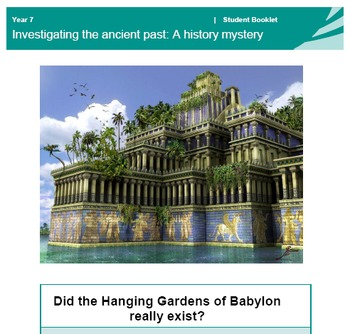 7 Wonders of the World - Hanging Gardens of Babylon - Hist