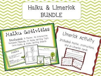 Haiku & Limerick Activities BUNDLE