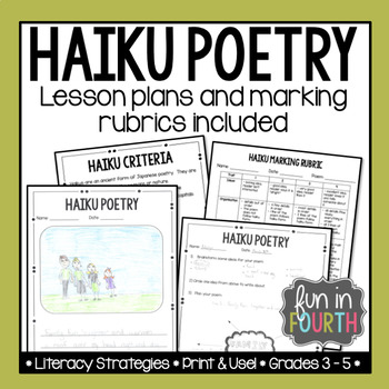 Haiku Poetry Lesson and Marking Rubric