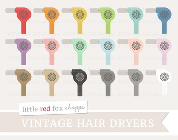 Hair Dryer Clipart; Hairdryer