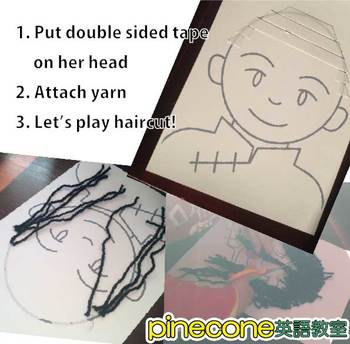 Haircut Paper Doll