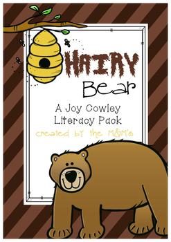 Hairy Bear Literacy Pack (A Joy Cowley Book Study)