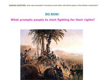 Haitian Revolution PowerPoint