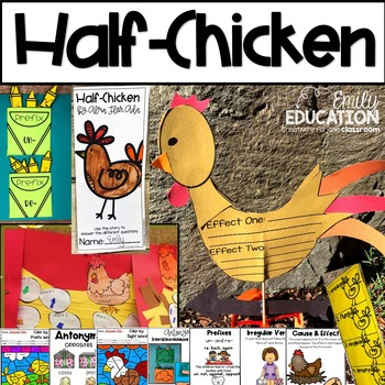 Half-Chicken Activities Journeys 2nd Grade Lesson 24