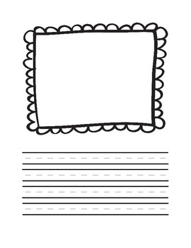 Half Manuscript page with Lace frame