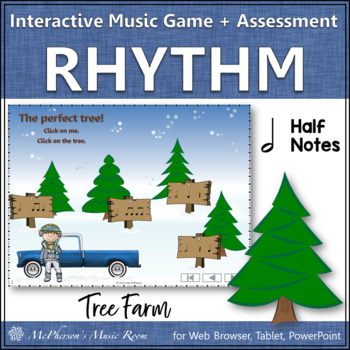 Half Note Tree Farm - Interactive Rhythm Game + Assessment