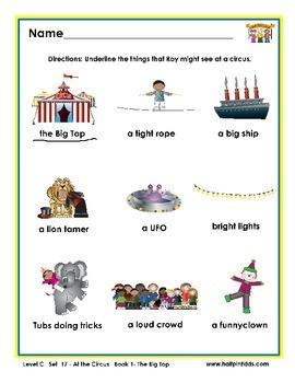 Half-Pint Kids Printables for Beginning Readers Set 17 Boo