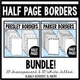 Borders Half Page BUNDLE!