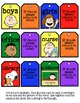 Hall Passes {Charlie Brown or Peanuts Theme}