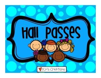 Hall Passes FREEBIE!