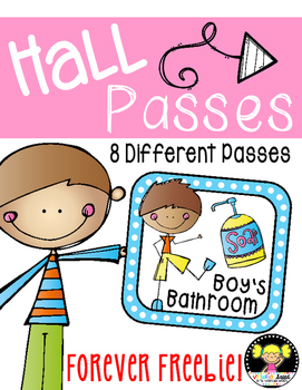 Hall Passes Freebie!