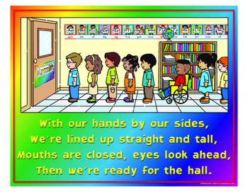 "Hall Rules- 18"" x 23"""