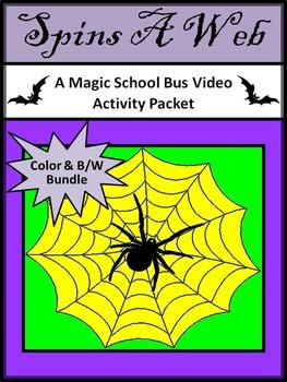 Halloween Activities: Spins a Web Magic School Bus Video A