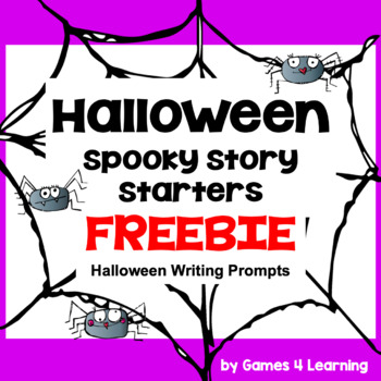 Halloween Writing Activity: Spooky Story Starters for Hall