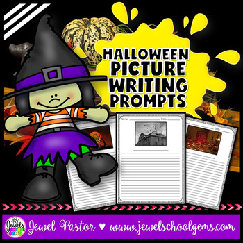 Halloween Writing Prompts and Writing Paper