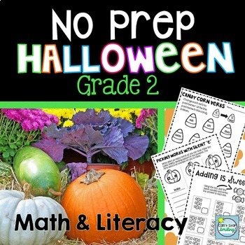 Halloween Activities ~ Halloween 2nd Grade ~ Halloween Math