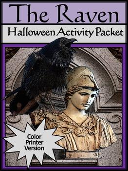 Halloween Activities: The Raven Halloween Language Arts Ac
