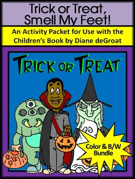 Halloween Reading Activities: Trick or Treat, Smell My Fee