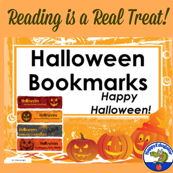Halloween Bookmarks - for a Halloween Treat