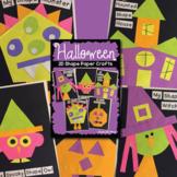 Halloween 2D Shape Paper Crafts