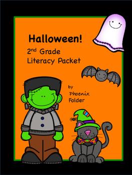 Halloween 2nd Grade Literacy Packet