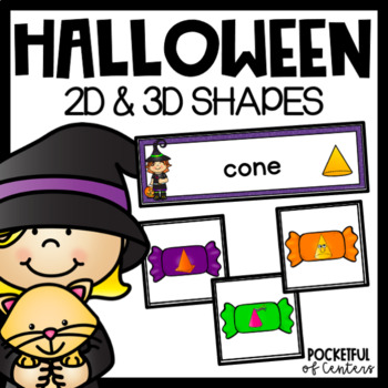Halloween 3D Shape Sorting