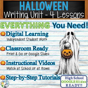 Halloween Writing BUNDLE! - Argumentative, Persuasive, Exp