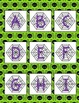 Halloween ABC Matching:  Uppercase and lowercase letters.