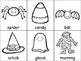Halloween ABC Order Cut and Paste Printable---FREEBIE