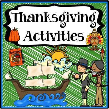 Thanksgiving Activities {Thanksgiving Writing, Reading, S&