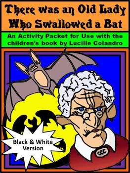 Halloween Reading Activities: Old Lady Who Swallowed a Bat