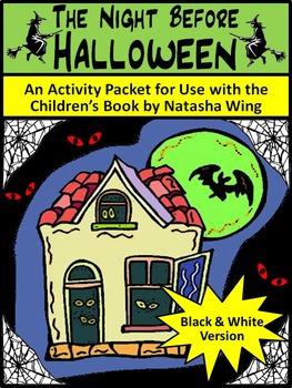 Halloween Language Arts Activities: Night Before Halloween