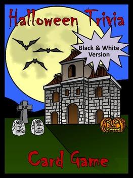 Halloween Fun: Halloween Triva Card Game