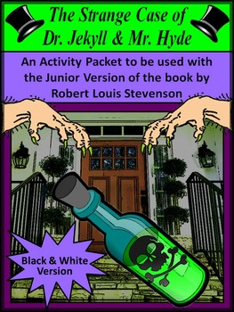 Halloween Reading Activities: Dr. Jekyll & Mr. Hyde Hallow