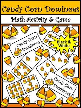 Halloween Activities: Candy Corn Dominoes