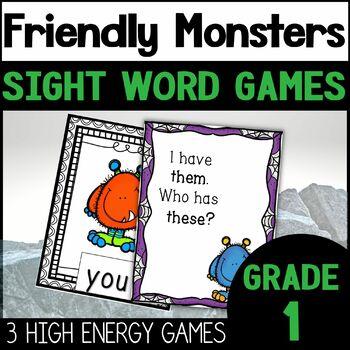 Halloween Activities for Sight Words