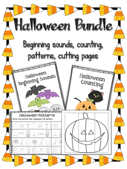 Halloween Activities: Beginning sounds, Counting, Patterns