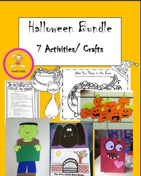 Halloween Activities/ Crafts Bundle