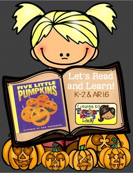 """Halloween Activities: """"Five Little Pumpkins"""" Unit"""