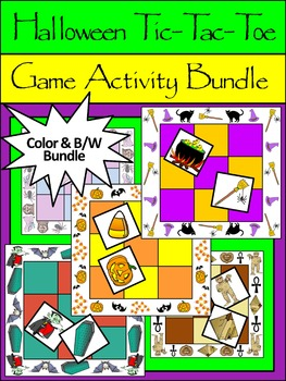 Halloween Activities: Halloween Tic-Tac-Toe Games Activiti