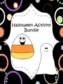 Halloween Activity Bundle (math and language arts!)