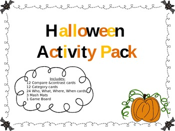 Halloween Activity Pack (FREEBIE)