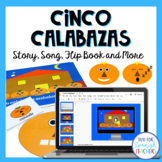 Halloween Activity Set - Cinco Calabazas {Mp3 included}