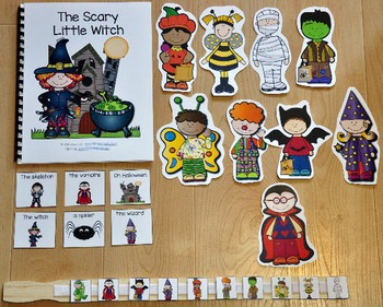"Halloween Adapted Book--""The Scary Little Witch"""